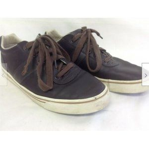 Men's Brown Fashion Sneakers Leather 9D